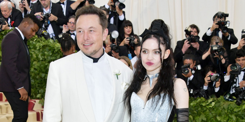 Musk and Grimes announced that they were dating