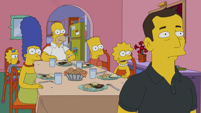 Made a cameo in The Simpsons episode