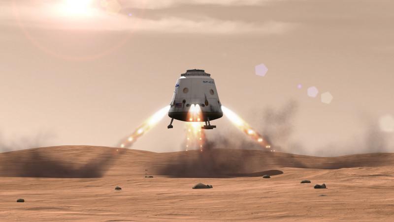 Revealed Mars colonization exploration architecture details