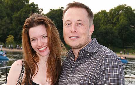Musk married his second wife, Talulah Riley