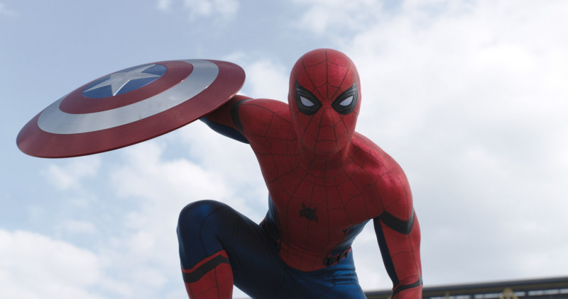 Cast as Spider-Man in Captain America: Civil War